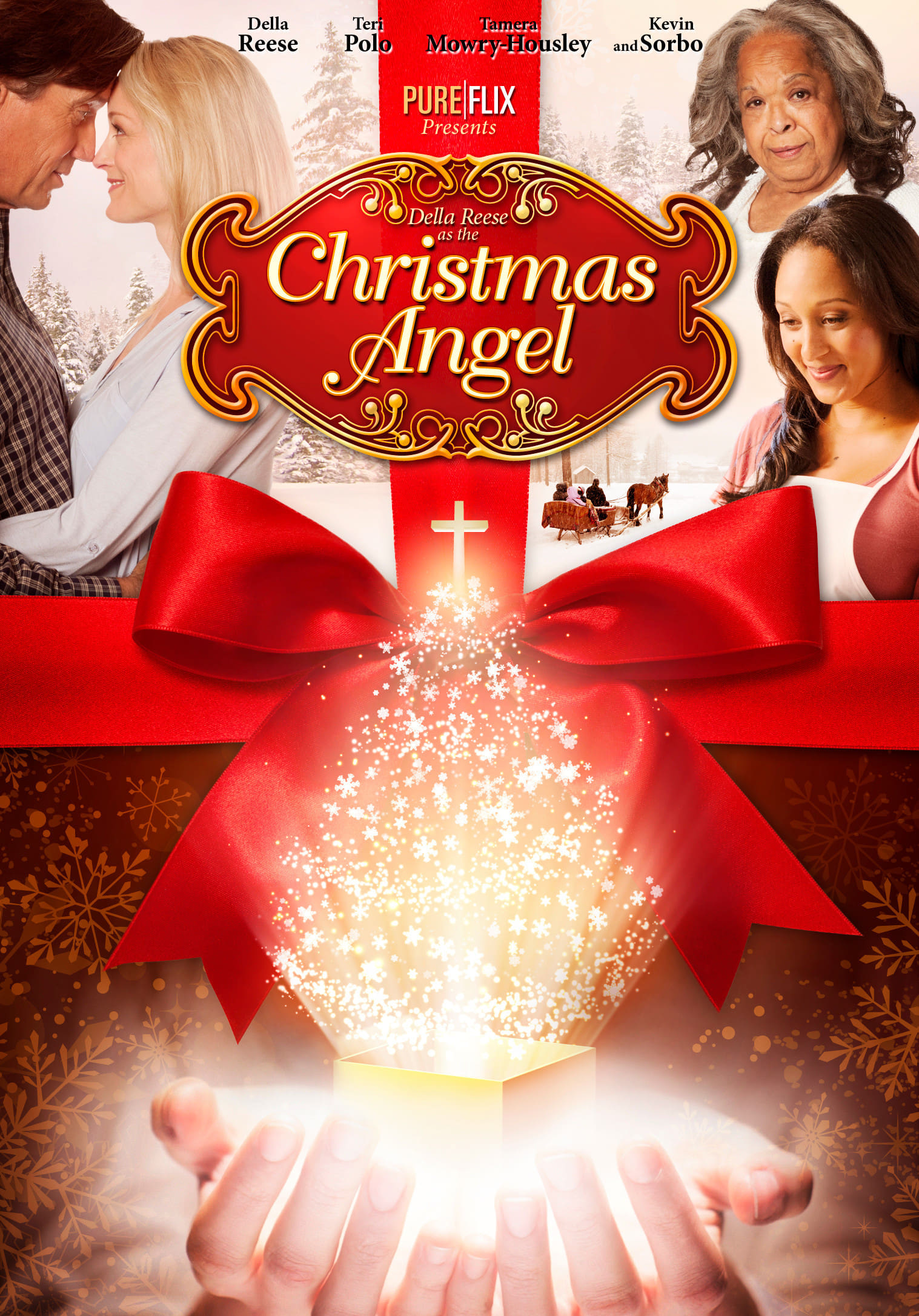 "Poster for the movie ""Christmas Angel"""
