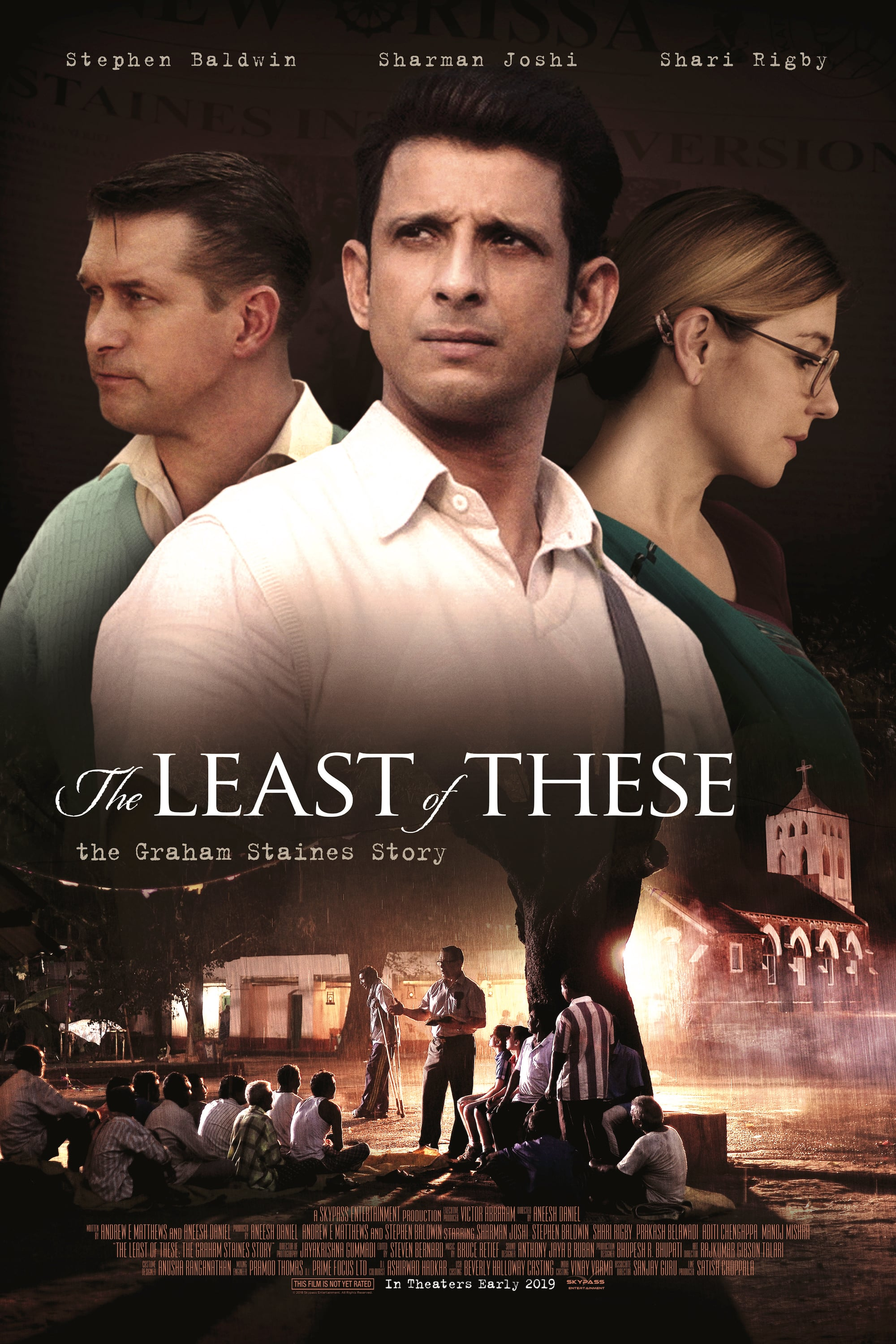 "Poster for the movie ""The Least of These"""
